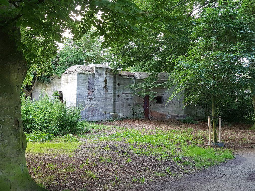 Museum Alkmaar 1940-1945 in de bunker in de Alkmaarder Hout