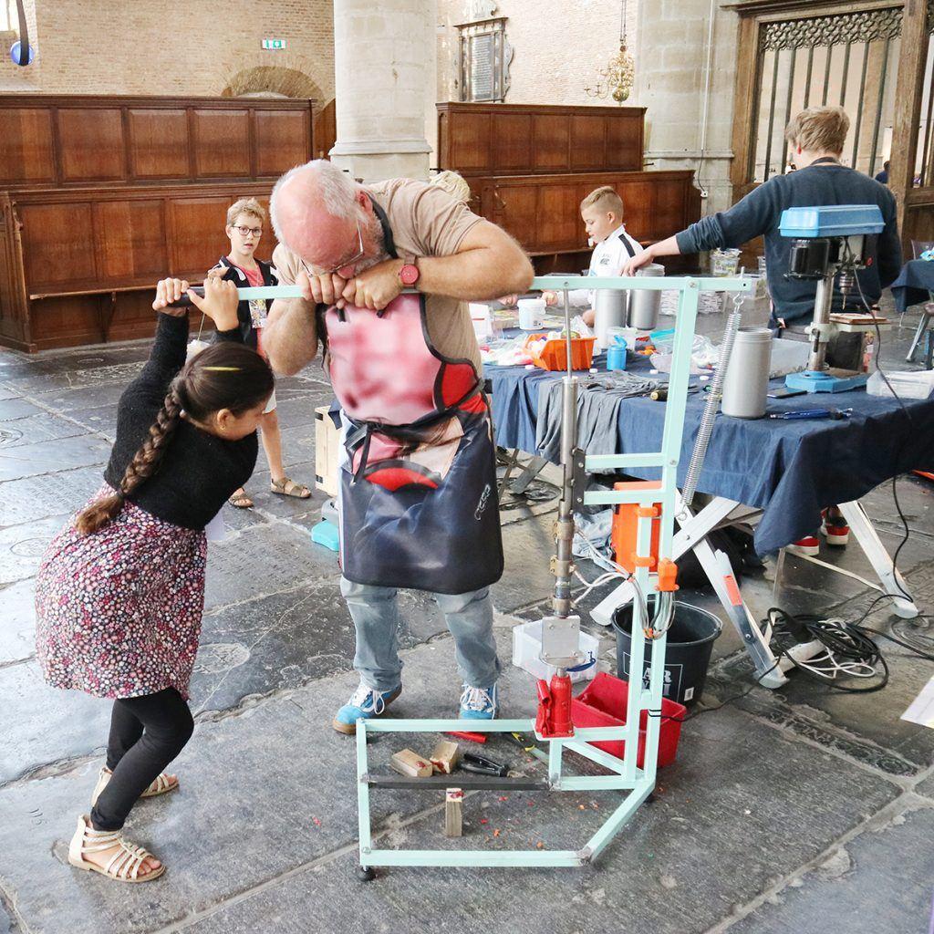 Afvalmarathon Grote Kerk