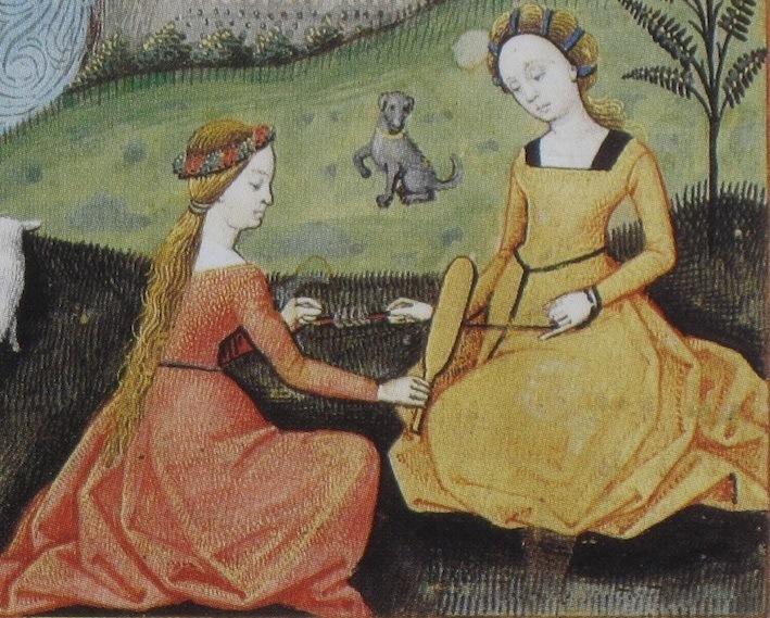 Voorbeeld van het dragen van een gordelriem