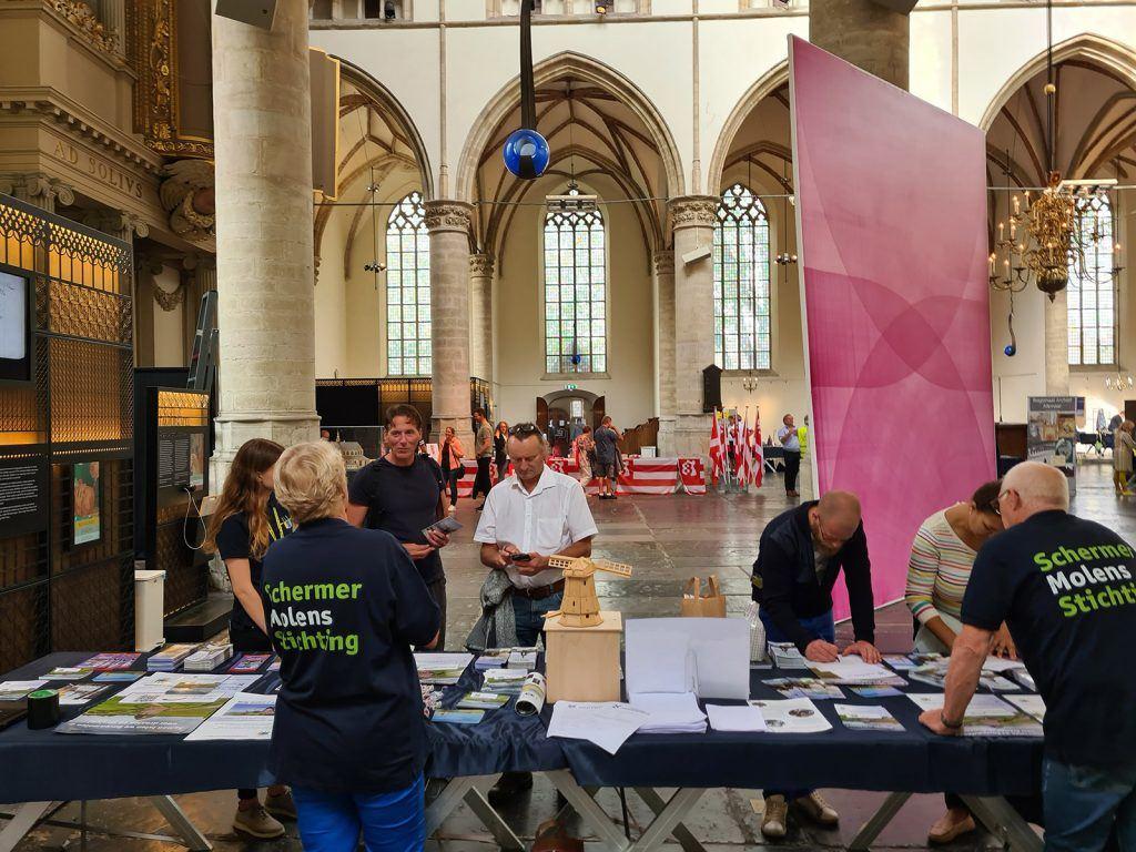 Historische markt - Stichting Schermermolens